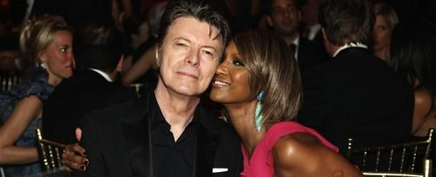 Iconic couple David Bowie and Iman celebrated their 20th wedding anniversary in 2012. They have one daughter together.