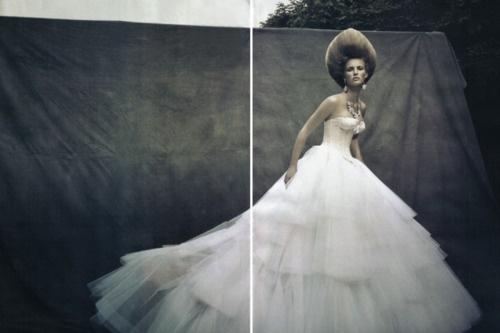 Ymre Stiekema in Christian Dior Fall 2009