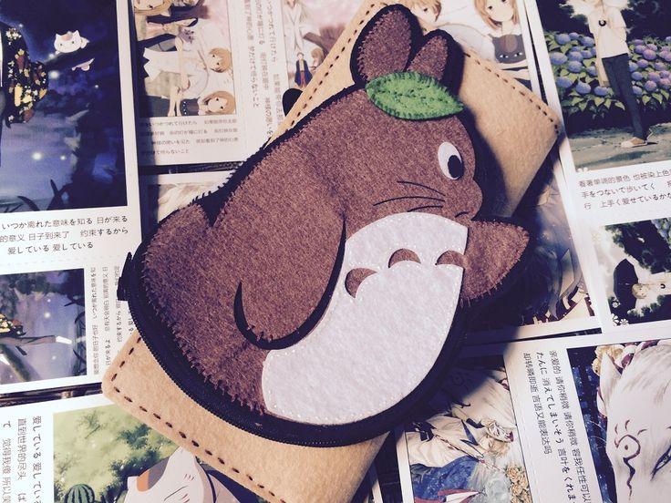 DIY Portemonnaie Totoro (1)