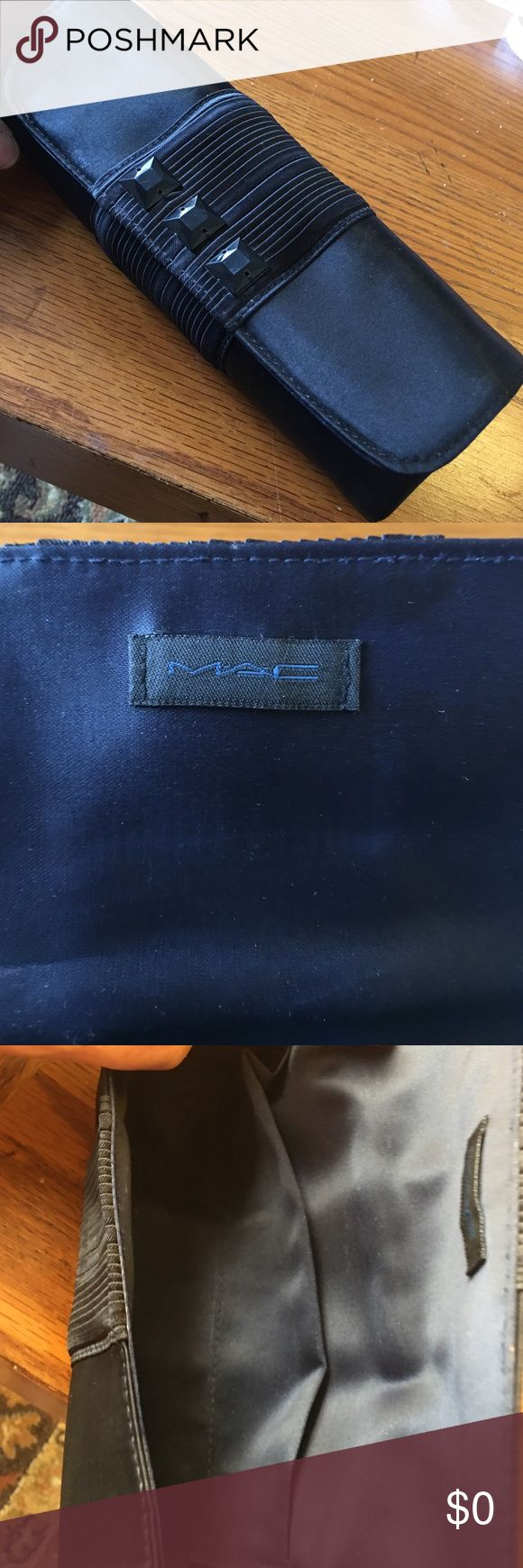 MAC  Makeup case MAC Makeup Case 8x3x2 in black.in perfect condition MAC Cosmetics Bags Cosmetic Bags & Cases