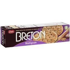 Breton Multigrain Crackers (12x8.8 Oz)