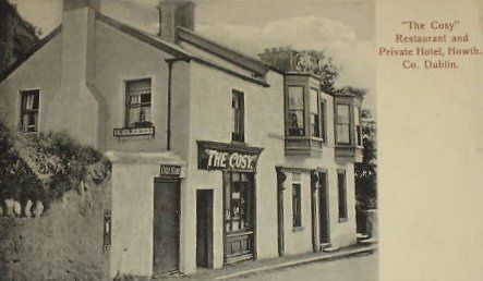 Restaurant in Howth c1907