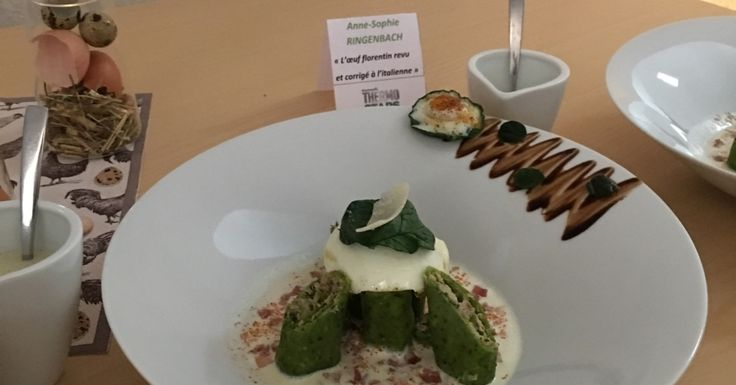L'œuf florentin revu et corrigé à l'italienne - Recette de l'agence de Mulhouse qualifiée pour la demi-finale Thermostars