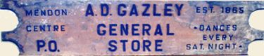 old general Store  sign