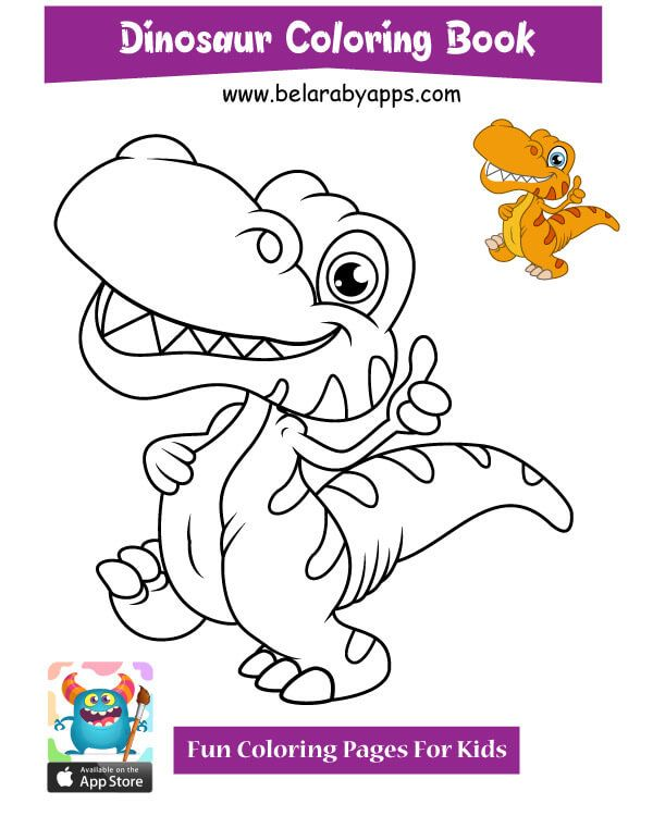 Free Cute Dinosaur Coloring Pages Belarabyapps In 2020 Dinosaur Coloring Pages Dinosaur Coloring Unicorn Coloring Pages