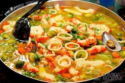 Receita de Moqueca de camarão - Comida e Receitas