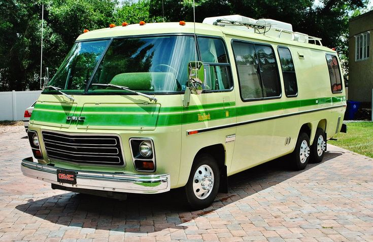 With summer comes the slice of Americana known as the road trip...and today we aren't going talk about cars for a motel trip or camping, instead let's shine some light on the most fundamentally 'Merican version of the road trip car-- the Recreational Vehicle (RV).  Many options exist for the RV, but fewer are more awesome than the GMC motor home with Olds Toronado power.  Find this 1976 GMC Motor Home currently bidding for $19,879 reserve-not-met on ebay with about an hour to go, located in…