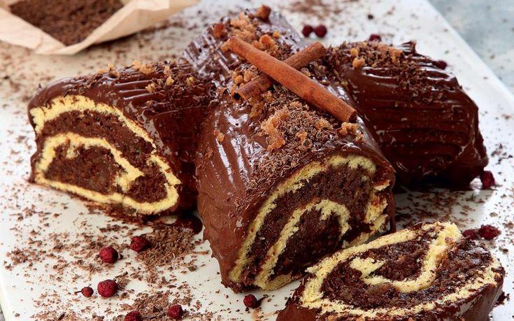 Kορμός με μους σοκολάτα, ρούμι και μελομακάρονα, Του Τάσου Τυρανόπουλου | Kathimerini