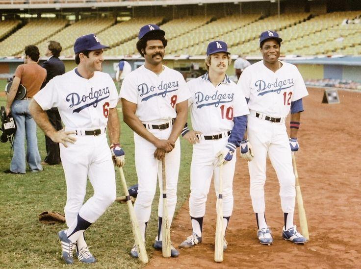 Dodgers sluggers: Steve Garvey, Reggie Smith, Ron Cey and Dusty Baker   Baseball   Pinterest ...