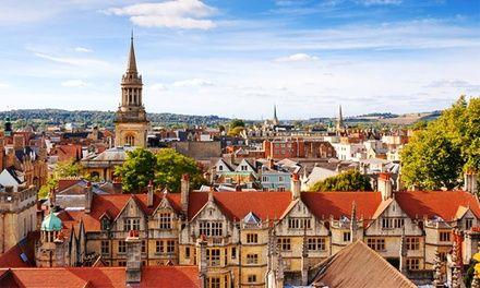 Oxford : 1 à 4 semaines de cours d'anglais général à Oxford English Academy, hébergement en chambre privée pour 1 pers.