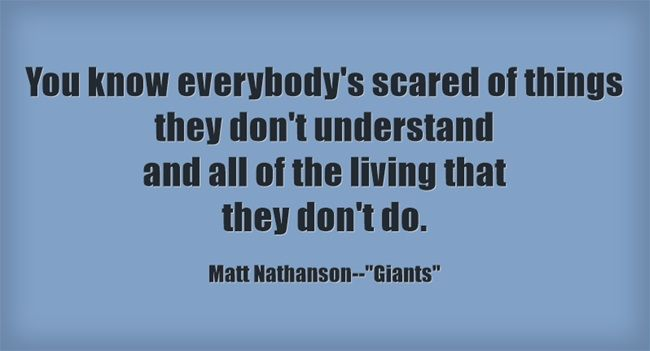 "Matt Nathanson--""Giants"" from his new album, Show Me Your Fangs, out October 2."