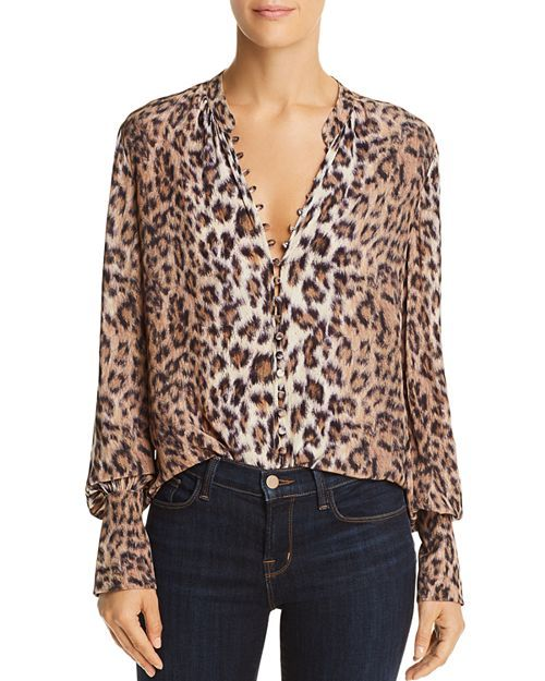 41664f0f19bf36 Joie Tariana Leopard-Print Shirt in 2019 | Style - Her | Printed ...