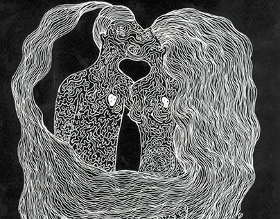 """Check out new work on my @Behance portfolio: """"Lovers"""" http://be.net/gallery/43339313/Lovers"""