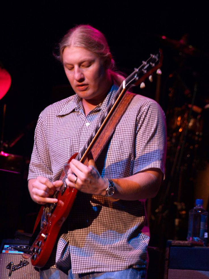 Derek Trucks-the amazing guitarist & nephew of one of the founding members of the Allman Bros Band .. Butch Trucks, drummer.