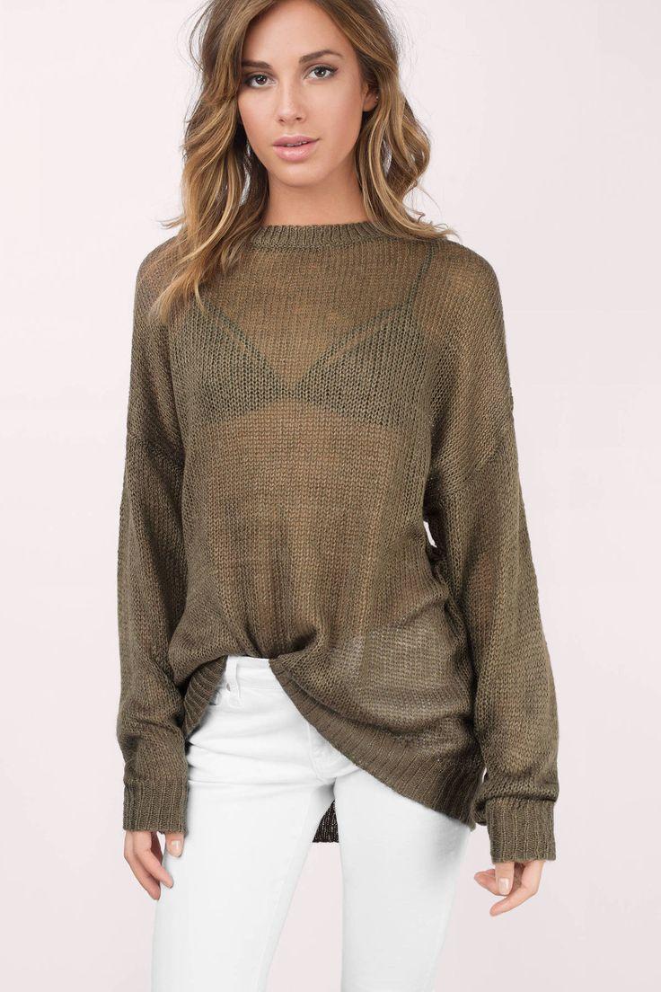 Penelope Oversized Sweater at Tobi.com #shoptobi  small