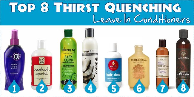 Top 8 Thirst Quenching Leave In Conditioners