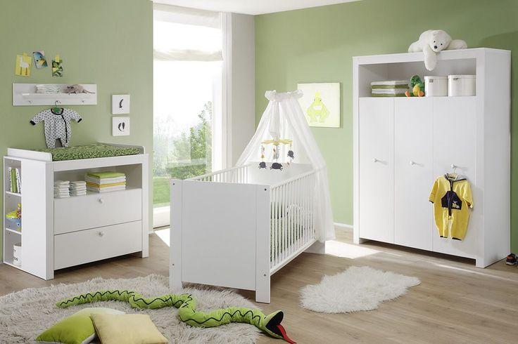 Chambre - Ensemble chambre bébé coloris blanc - Comforium