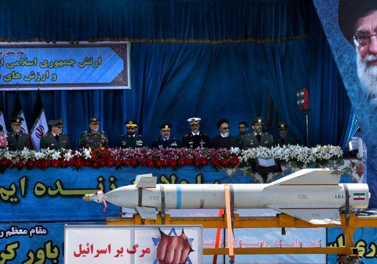 """Irã faz desfile militar e ameaça: """"Morte a Israel"""""""