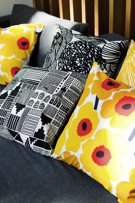 Marimekko's spring/summer 2014 interior decoration collection