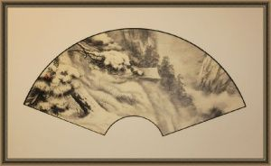 Sinke Art  First snow by Vyacheslav Sinkevich #vyacheslavsinkevich #sinke_art #japanesepainting