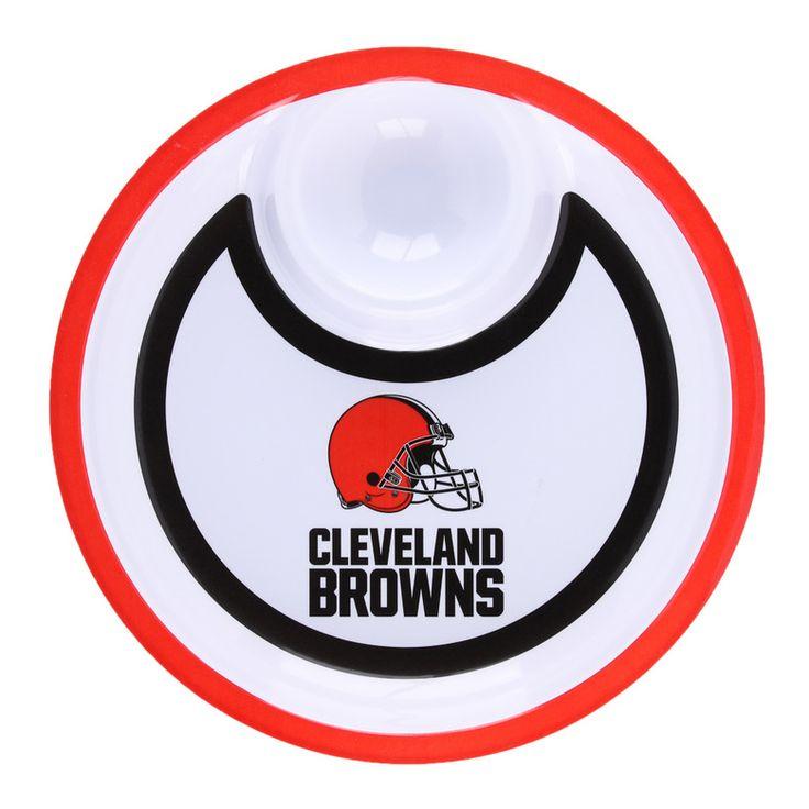 NFL Browns Chip 'n' Dip Bowl