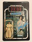 Vintage Kenner Star Wars Return of the Jedi MOC Princess Leia Autographed Carrie