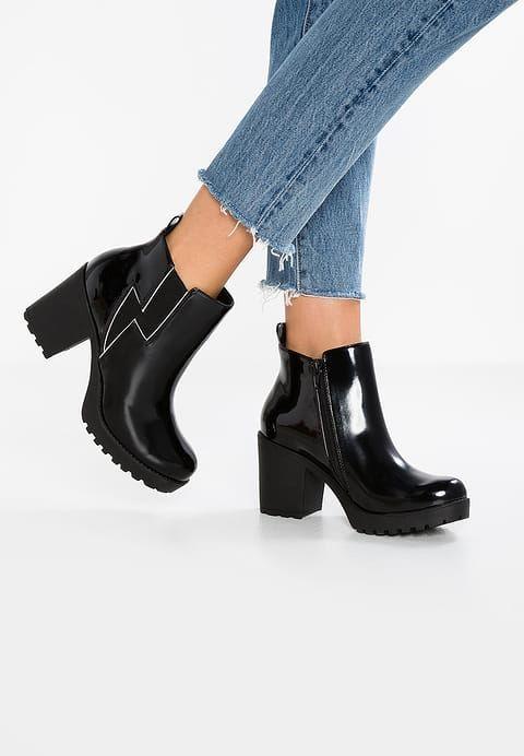 Schoenen Steve Madden LIGHTING - Korte laarzen - black Zwart: € 119,95 Bij Zalando