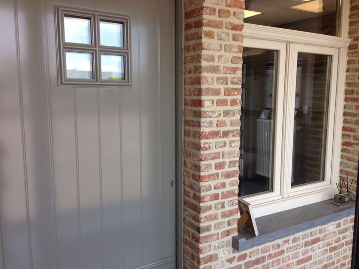 Kleur ramen en deur