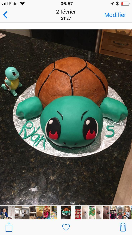 Pikemon cake