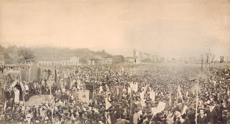 Missa em Ação de Graças pela Abolição da Escravatura - 17/05/1888 - A. Luiz Ferreira