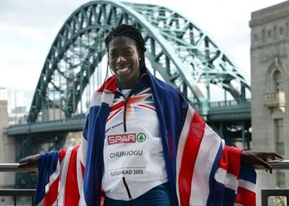 5 minutes with Christine Ohuruogu -GB athlete Christine Ohuruogu specialises in the 400m; an event for which she is the former Olympic, World and Commonwealth Champion.