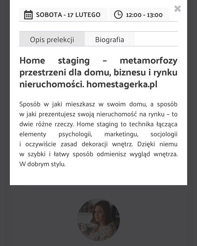 Zapraszam Na Moja Prelekcje O 12 00 Juz 17 Lutego 2018 Podczas Targow Mieszkaniowi Targimieszkaniowe Mieszkaniowi Targ Home Staging Dla Domu Nieruchomosci