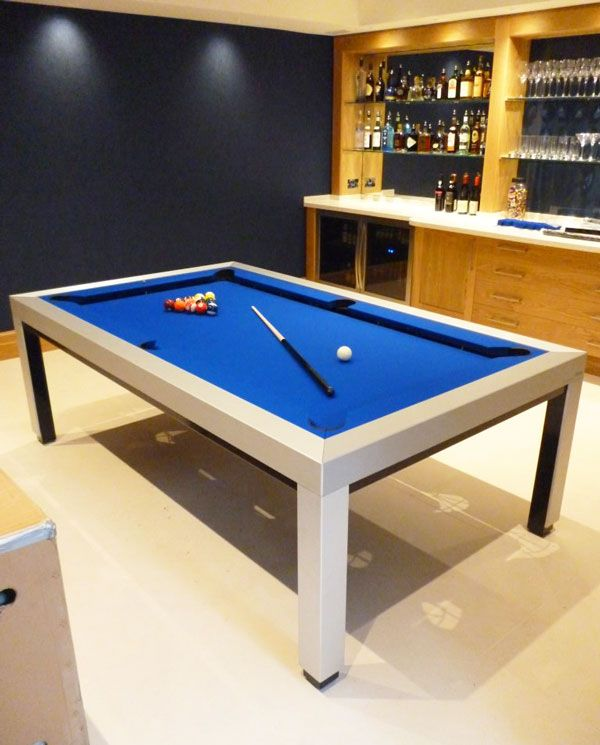 Charmant Best Selling Custom Pool Table. 7u0027 English Modern Pool Table In Solid Oak  With Black Cloth. Http://luxury Pool Tables.co.uk | My Ideal Humble Abode  ...