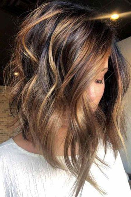 18 Caramel Ombre Short Hair – #Caramel #Hair #Ombre #short