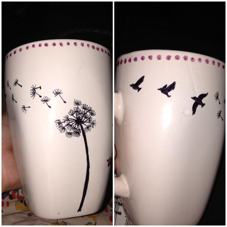 My DIY sharpie mug #makeawish