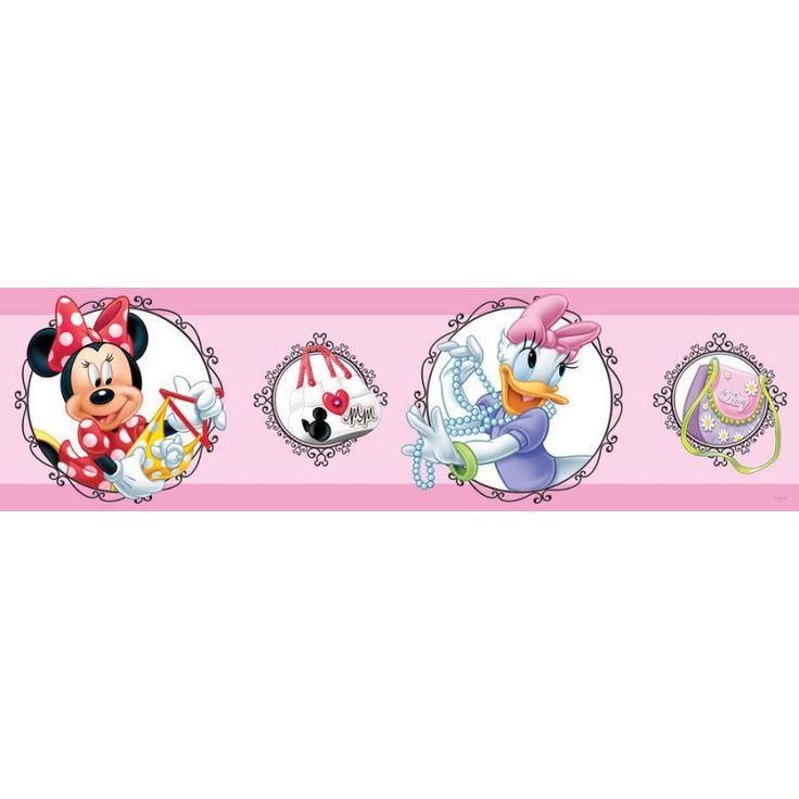 Walt Disney bordűr, Minnie egér és Daisy kacsa