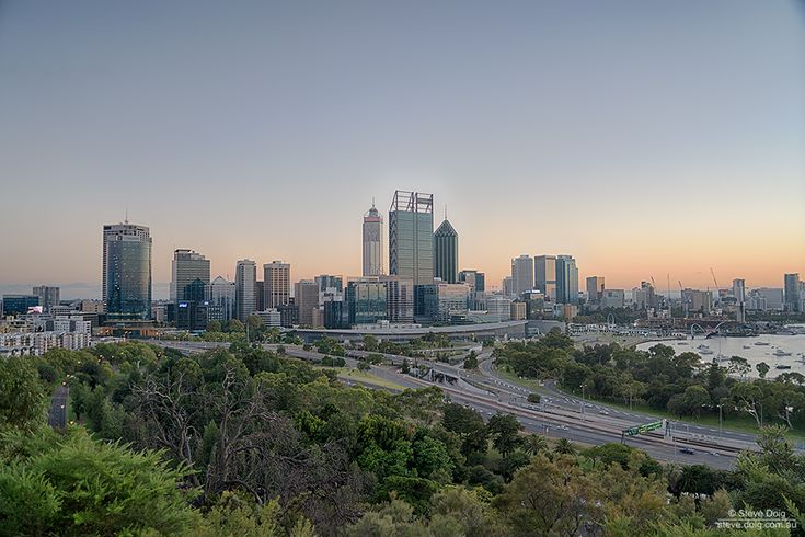 The other morning: #Perth from Kings Park
