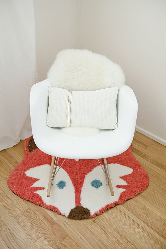 mini style, build an awesome nook with a single chair with its own small pillow and roundish rug, and ''cover'', maybe in same color or same color family, or simply nice color combination.