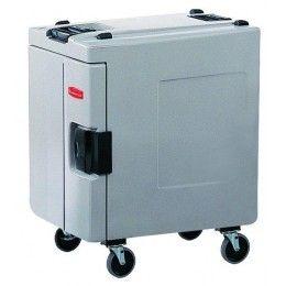 Contenedor isotérmico Catermax 100 con ruedas. Fabricado en Polietileno/EPS.
