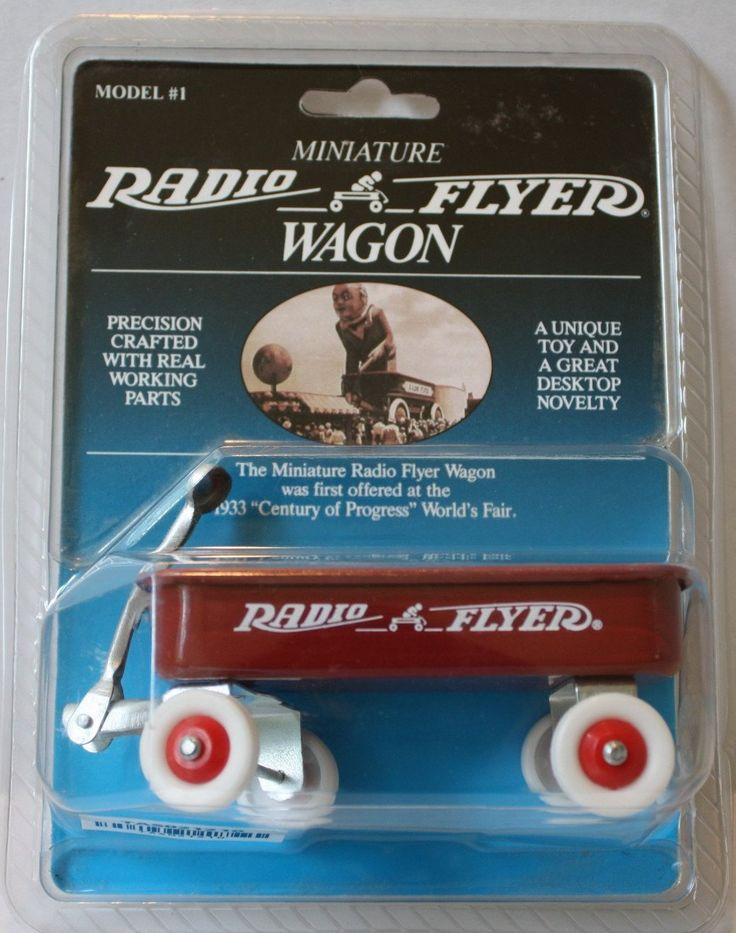 (TAS021210) - Miniature Radio Flyer Wagon Model #1