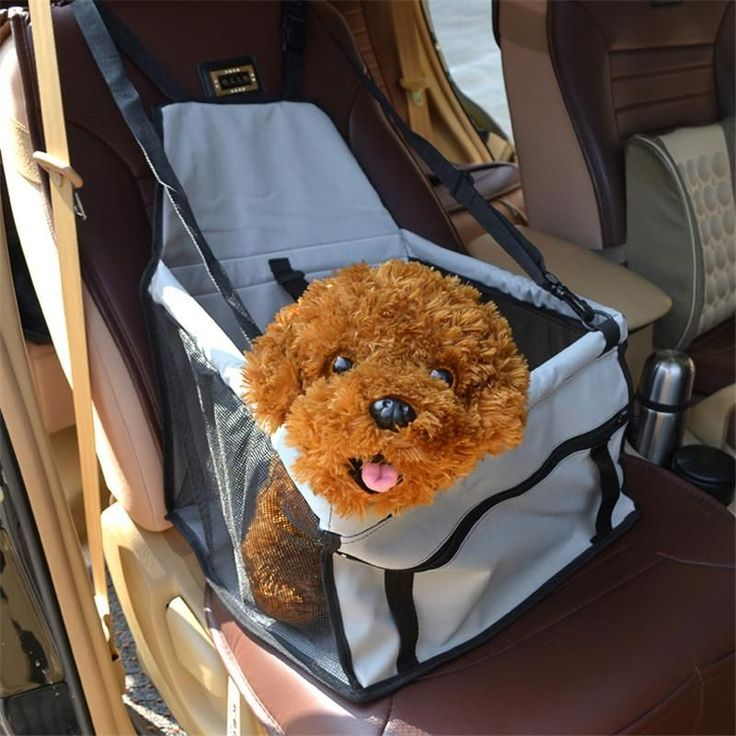 New PVC Dog Car Seat Bag Carriers Small Blanket Cover Breathable Waterproof