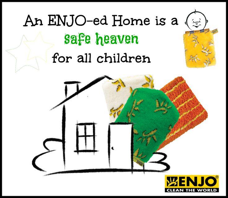 Wash Enjo Cloths: An ENJO-ed Home Is A SAFE HEAVEN For All Children!!
