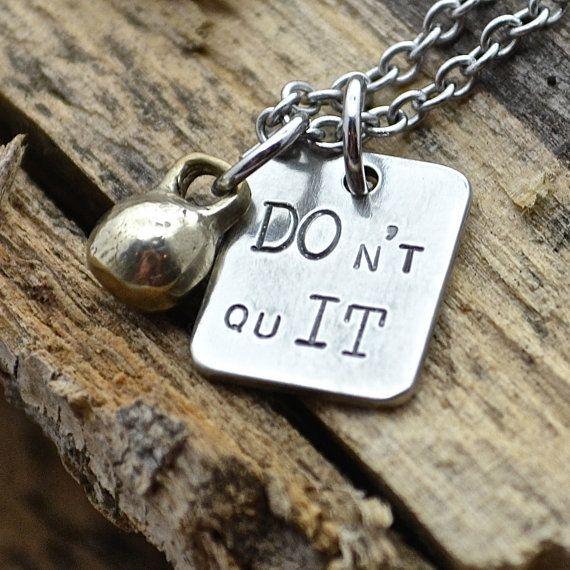 DOn't quIT Necklace