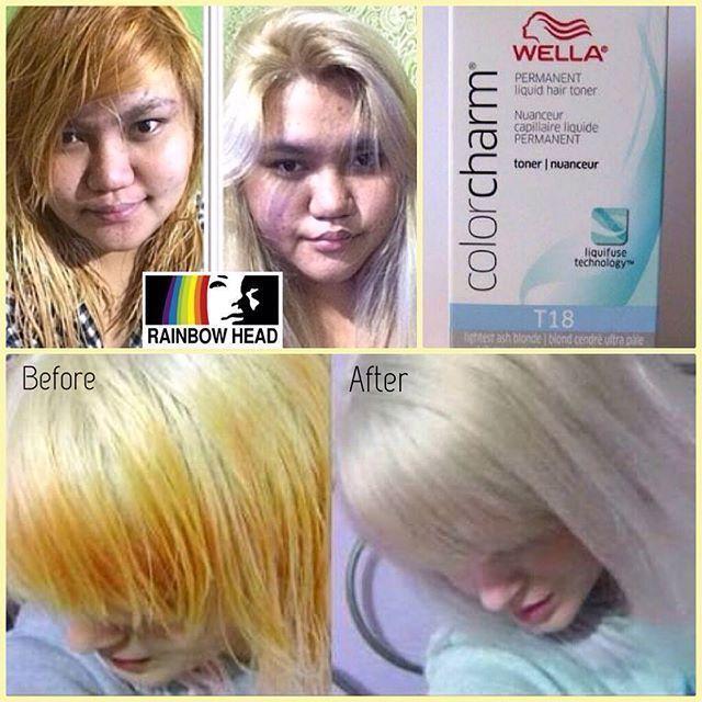 Wella Color Charm Hair Toner Available At Rainbow Head T18