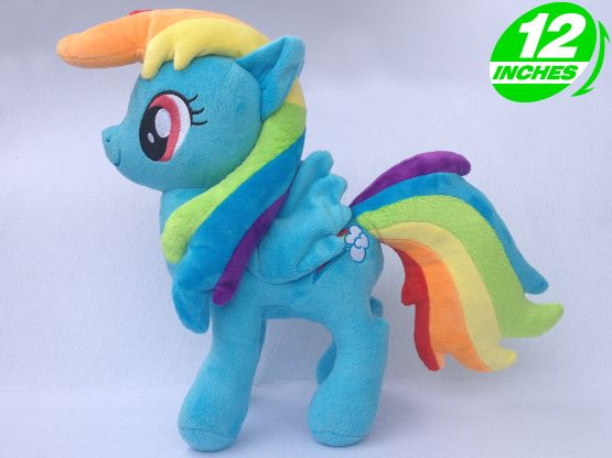 Cheap doll house toy, Buy Quality doll massage directly from China toy doll stroller Suppliers: Ty Beanie Boos Big Eyes Soft Stuffed Animal Unicorn Horse  Plush Toys Doll Rainbow Dash
