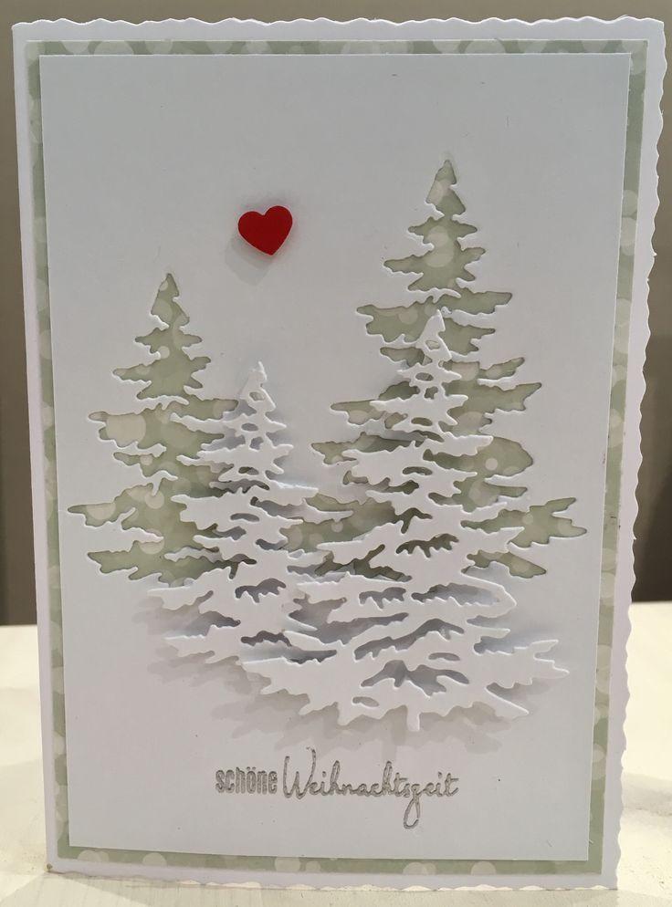 Beispiele Für Weihnachtsgrüße.Weihnachtskarte Weihnachtskarte Karten Beispiele