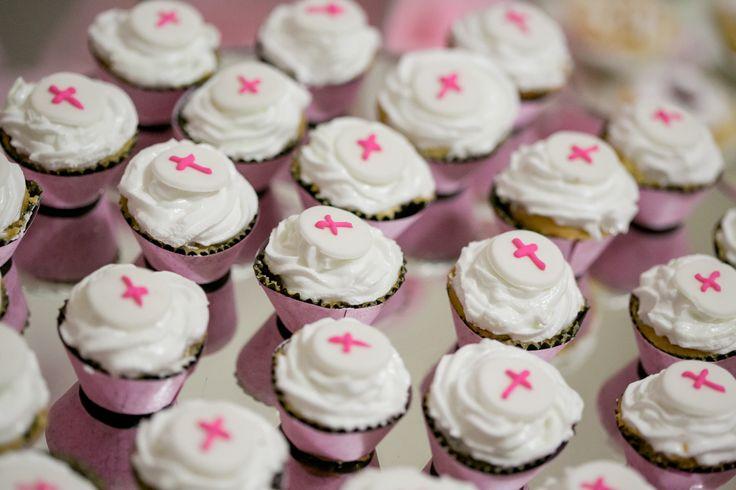 Mini cupcakes religiosos