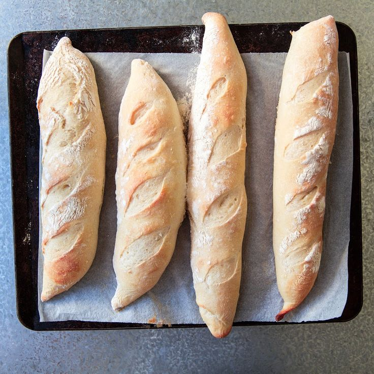 Milk and Honey: Semi-Sourdough Baguettes