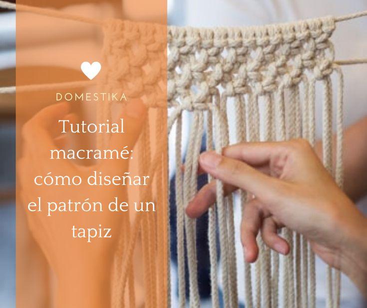 Conoce los elementos básicos para iniciarte en el macramé y trasladar la idea al patrón y tapiz #diy #tutorial #affiliate #craft Fingerless Gloves, Arm Warmers, Diy, Crafts, Ideas, Home Decoration, Creativity, Dressmaking, Fingerless Mitts