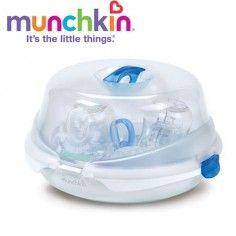http://idealbebe.ro/munchkin-sterilizator-microunde-p-15682.html Munchkin - Sterilizator microunde
